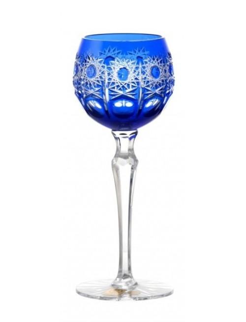 Kieliszek do wina Petra, kolor niebieski, objętość 170 ml
