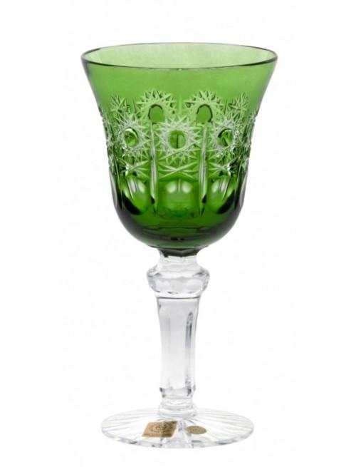 Kieliszek do wina Petra, kolor zielony, objętość 180 ml