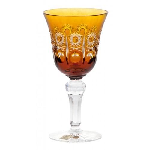 Kieliszek do wina Petra, kolor bursztynowy, objętość 180 ml