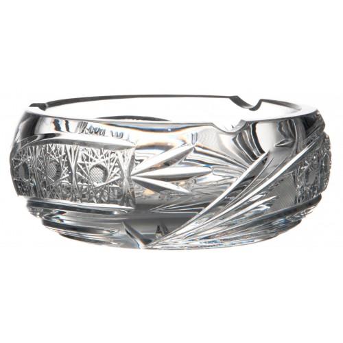 Popielniczka Kometa, szkło kryształowe bezbarwne, średnica 155 mm