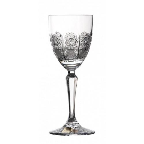 Szklanka Chkolor bursztynowyly dezert, szkło kryształowe bezbarwne, objętość 140 ml