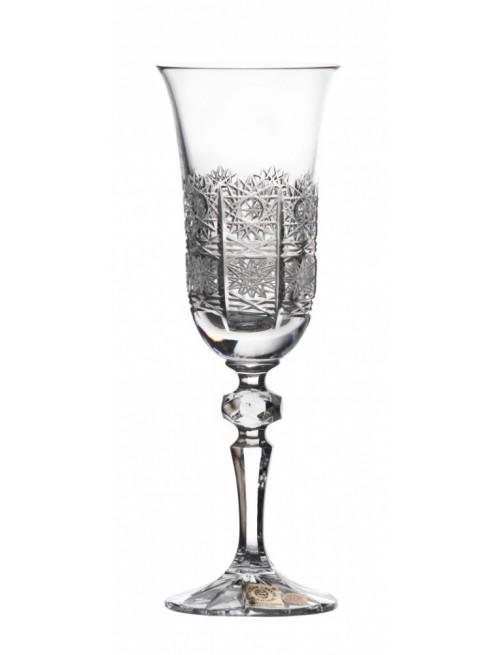 Lampka Laura, szkło kryształowe bezbarwne, objętość 150 ml