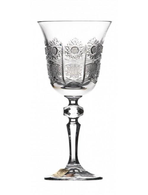 Kieliszek do wina Laura, szkło kryształowe bezbarwne, objętość 170 ml