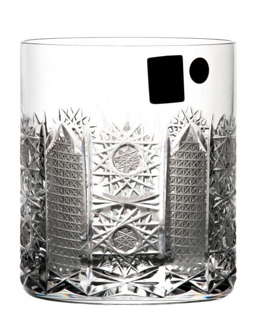Szklanka Iris, szkło kryształowe bezbarwne, objętość 320 ml