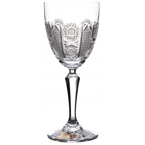 Kieliszek do wina Irys, szkło kryształowe bezbarwne, objętość 200 ml