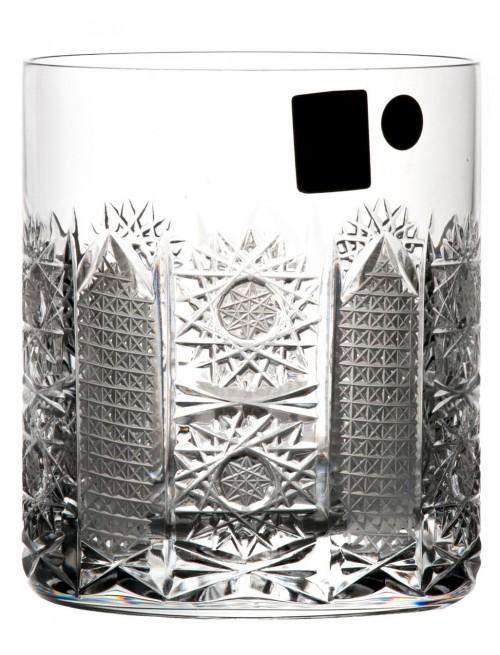 Szklanka Irys, szkło kryształowe bezbarwne, objętość 320 ml