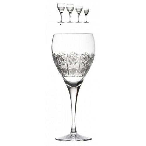 Kieliszek do wina Fiona, szkło kryształowe bezbarwne, objętość 420 ml