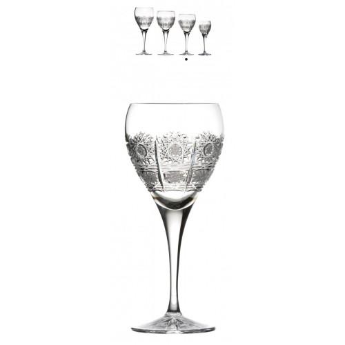 Kieliszek do wina Fiona, szkło kryształowe bezbarwne, objętość 270 ml
