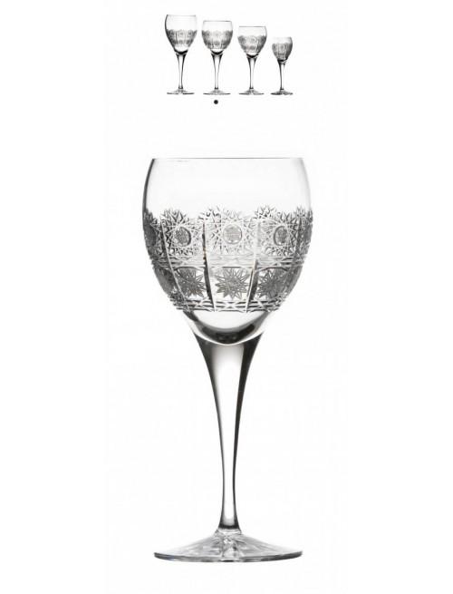 Kieliszek do wina Fiona, szkło kryształowe bezbarwne, objętość 340 ml