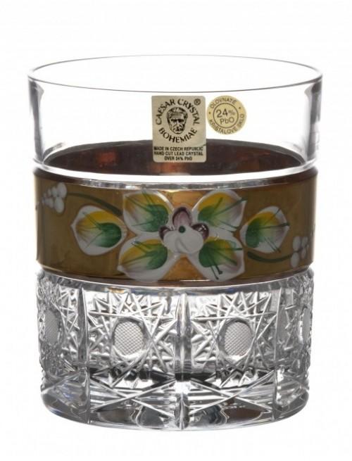 Szklanka do whiNiebo Złoto, szkło kryształowe bezbarwne, objętość 320 ml