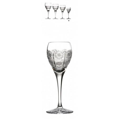 Szklanka Fiona 500PK, szkło kryształowe bezbarwne, objętość 90 ml
