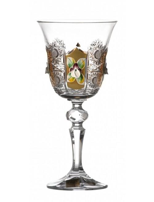 Kieliszek do wina Złoto, szkło kryształowe bezbarwne, objętość 170 ml