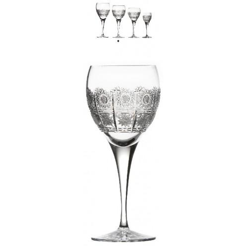 Kieliszek do wina 500PK, szkło kryształowe bezbarwne, objętość 340 ml
