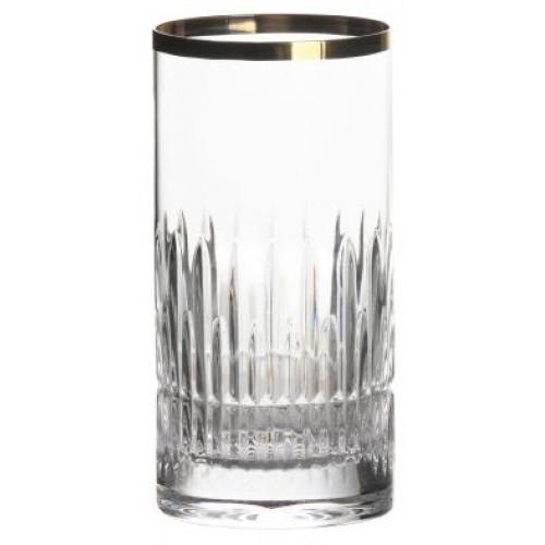 Szklanka Cierń, szkło kryształowe bezbarwne, objętość 351 ml