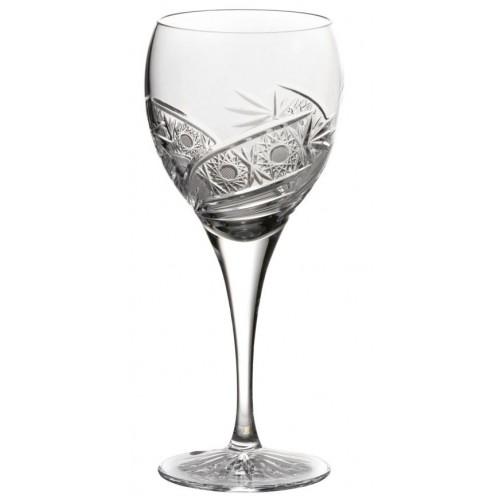 Kieliszek do wina Kometa, szkło kryształowe bezbarwne, objętość 420 ml