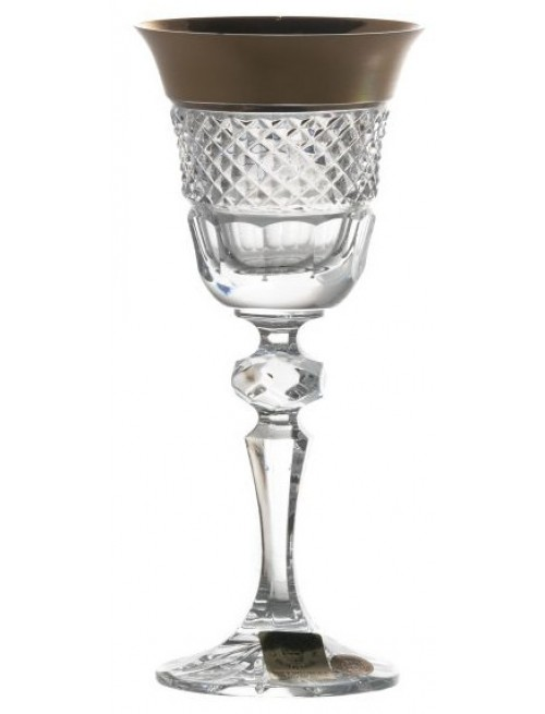 Szklanka Złoto, szkło kryształowe bezbarwne, objętość 60 ml