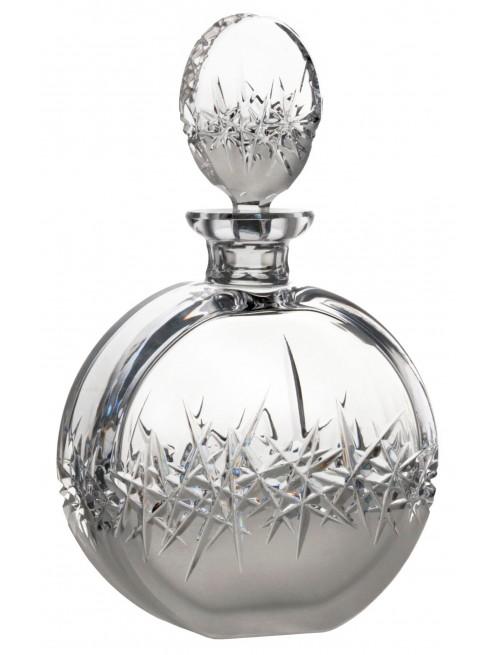 Butelka Szron, szkło kryształowe bezbarwne, objętość 600 ml