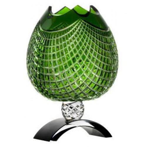 Wazon Quadrus, kolor zielony, wysokość 316 mm