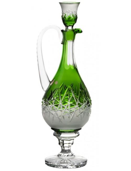 Karafka Szron, kolor zielony, objętość 1500 ml
