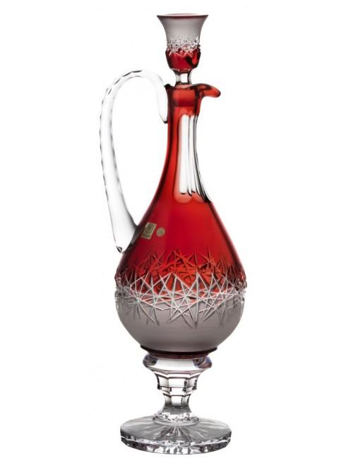 Karafka Szron, kolor rubinowy, objętość 1500 ml