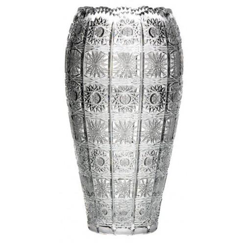 Wazon 500PK, szkło kryształowe bezbarwne, wysokość 310 mm