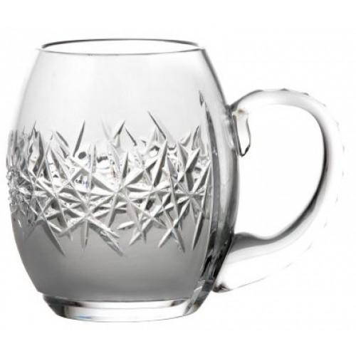 Szklanka Szron, szkło kryształowe bezbarwne, objętość 500 ml