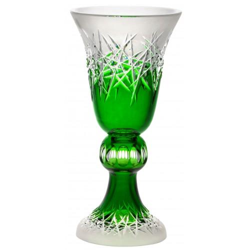 Wazon Szron, kolor zielony, wysokość 355 mm