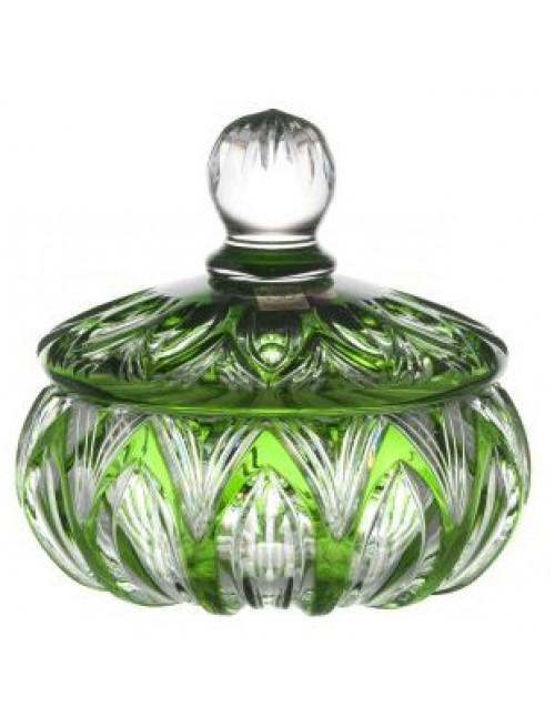 Bomboniera Lotos, kolor zielony, wysokość 165 mm