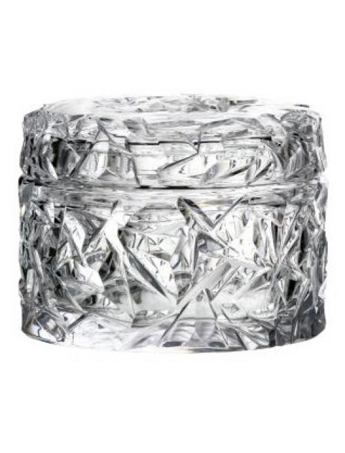 Bomboniera Floe, szkło kryształowe bezbarwne, wysokość 128 mm