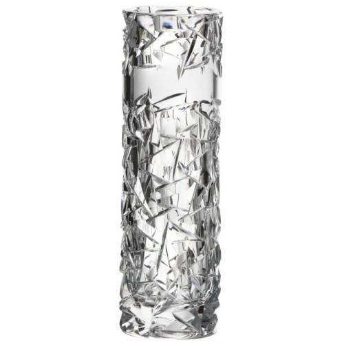 Wazon Floe, szkło kryształowe bezbarwne, wysokość 205 mm