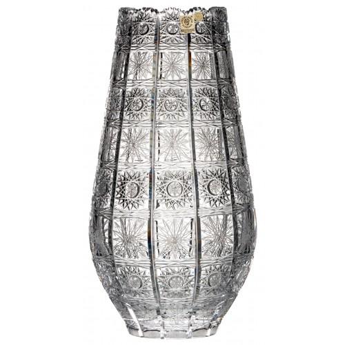 Wazon 500PK, szkło kryształowe bezbarwne, wysokość 305 mm