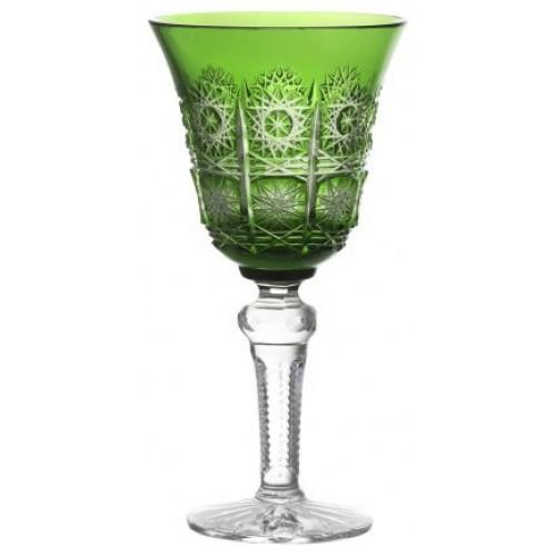 Kieliszek do wina Paula, kolor zielony, objętość 240 ml