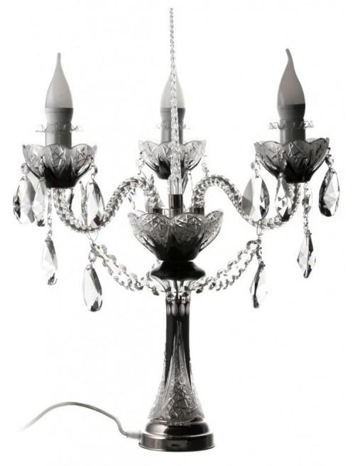 Lampa Pąk, kolor czarny, wysokość 310 mm