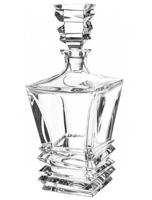 Butelka Rocky, szkło kryształowe bezbarwne, objętość 850 ml