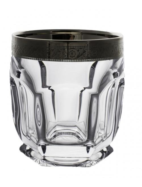 Zestaw Szklanka Safari Platyna 6x, Szkło bezołowiowe - crystalite, objętość 250 ml