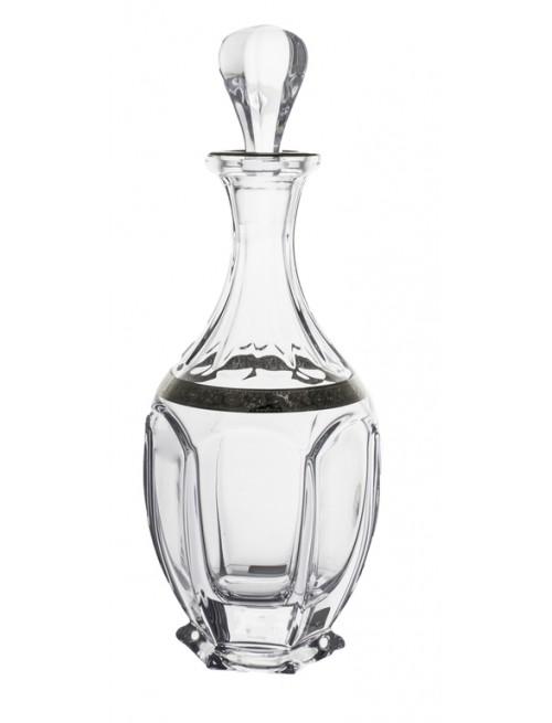 Butelka Safari platyna, szkło bezołowiowe - crystalite, objętość 800 ml