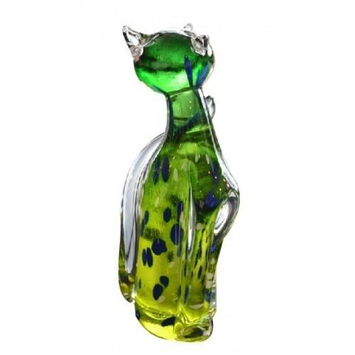 Kot, szkło hutnicze, wielkość 170 mm