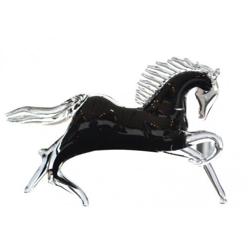 Koń, szkło hutnicze, wielkość 280 mm