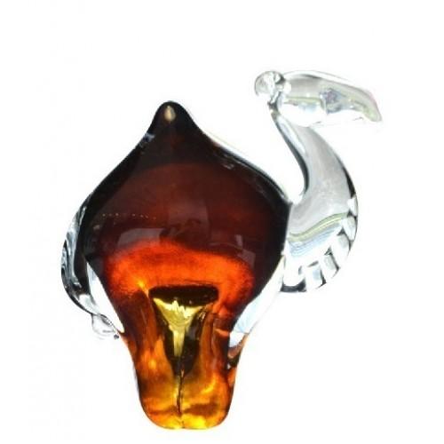 Wielbłąd, szkło hutnicze, wielkość 180 mm