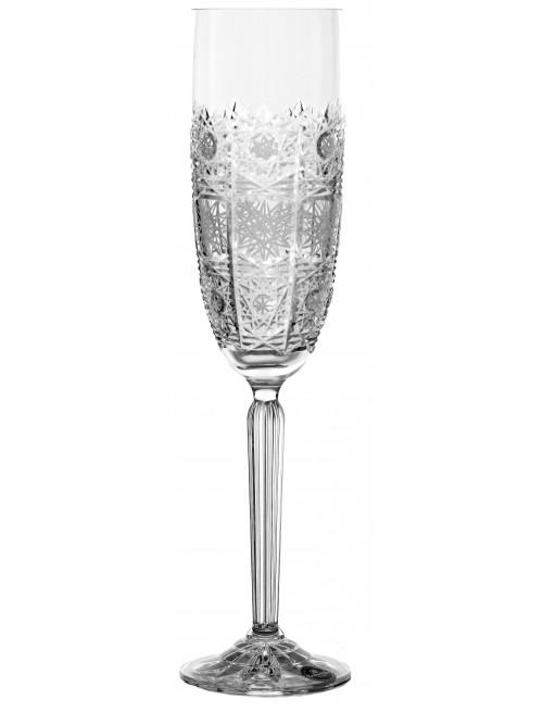 Kieliszek do wina 500PK, szkło kryształowe bezbarwne, objętość 220 ml