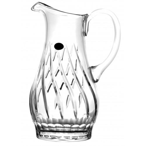 Dzbanek, szkło kryształowe bezbarwne, objętość 1300 ml