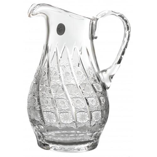 Dzbanek 500PK, szkło kryształowe bezbarwne, objętość 1200 ml