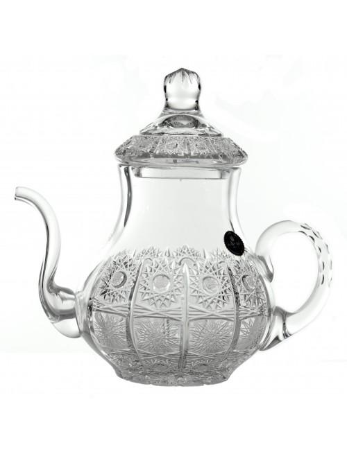 Dzbanek do herbaty 500PK, szkło kryształowe bezbarwne, objętość 1400 ml