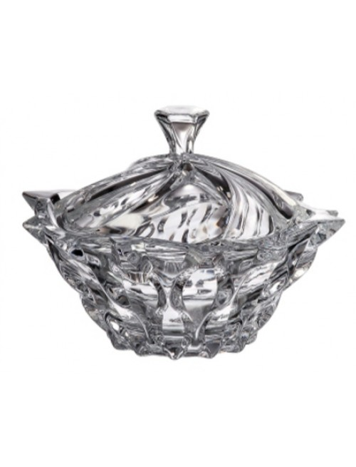 Bomboniera Samba, Szkło bezołowiowe - crystalite, średnica 210 mm