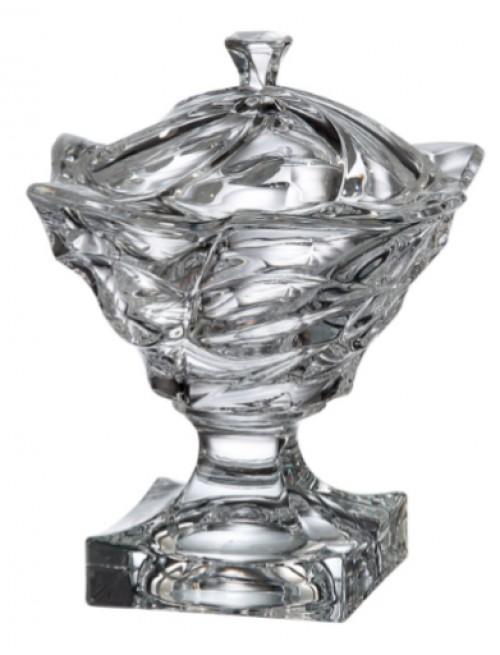 Bomboniera Flamenco, Szkło bezołowiowe - crystalite, średnica 250 mm
