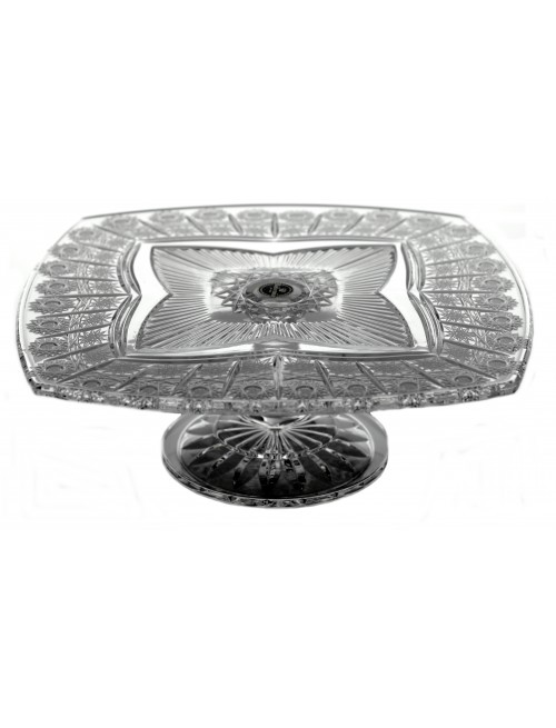 Patera Clematis 500PK, szkło kryształowe bezbarwne, średnica 330 mm