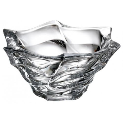 Półmisek Flamenco, Szkło kryształowe bezbarwne, średnica 295 mm