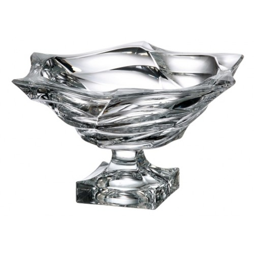Patera Flamenco, Szkło bezołowiowe - crystalite, średnica 330 mm