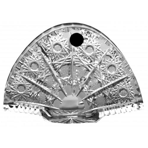 Stojak na serwetki 500PK, szkło kryształowe bezbarwne, wysokość 140 mm