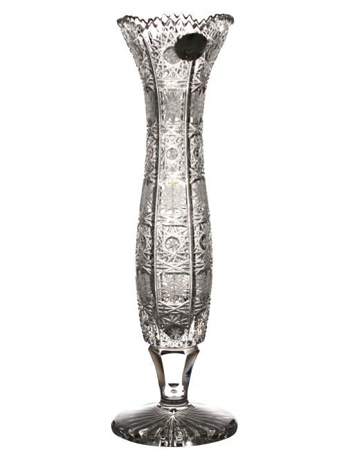 Wazon 500PK, szkło kryształowe bezbarwne, wysokość 205 mm